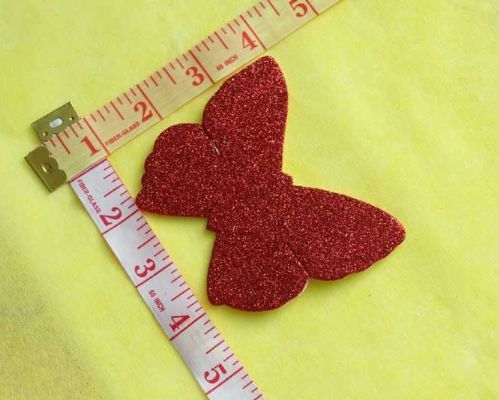 Sew On| iron on |Applique Motif  | Butterfly B 13